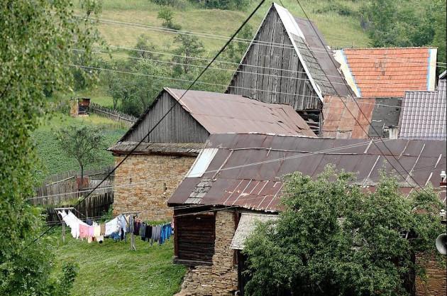 Hradisko - staré sypane a stodoly